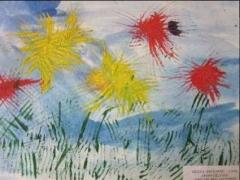 Milena Gvozdovič 3,10 m. 'Mano gėlytės''
