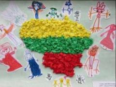Vaikų grupės darbas 'Mes-Lietuvos vaikai'