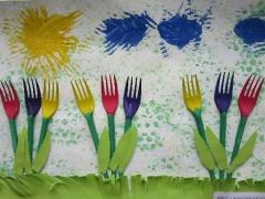 Brigita Aleksandravičiūtė 4,7 m. 'Tulpės pavasarį'