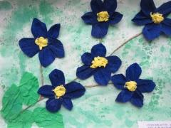 Livija Bakaitytė 4,3 m. 'Gėlė, kuri neužmiršta'